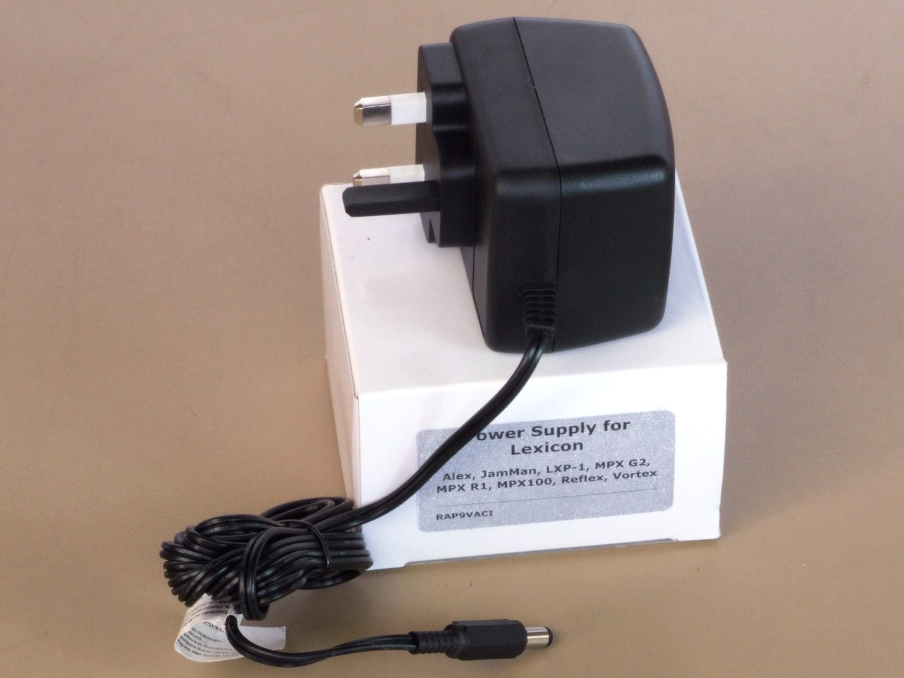 LEXICON MPX100 POWER SUPPLY REPLACEMENT ADAPTER UK 9V AC