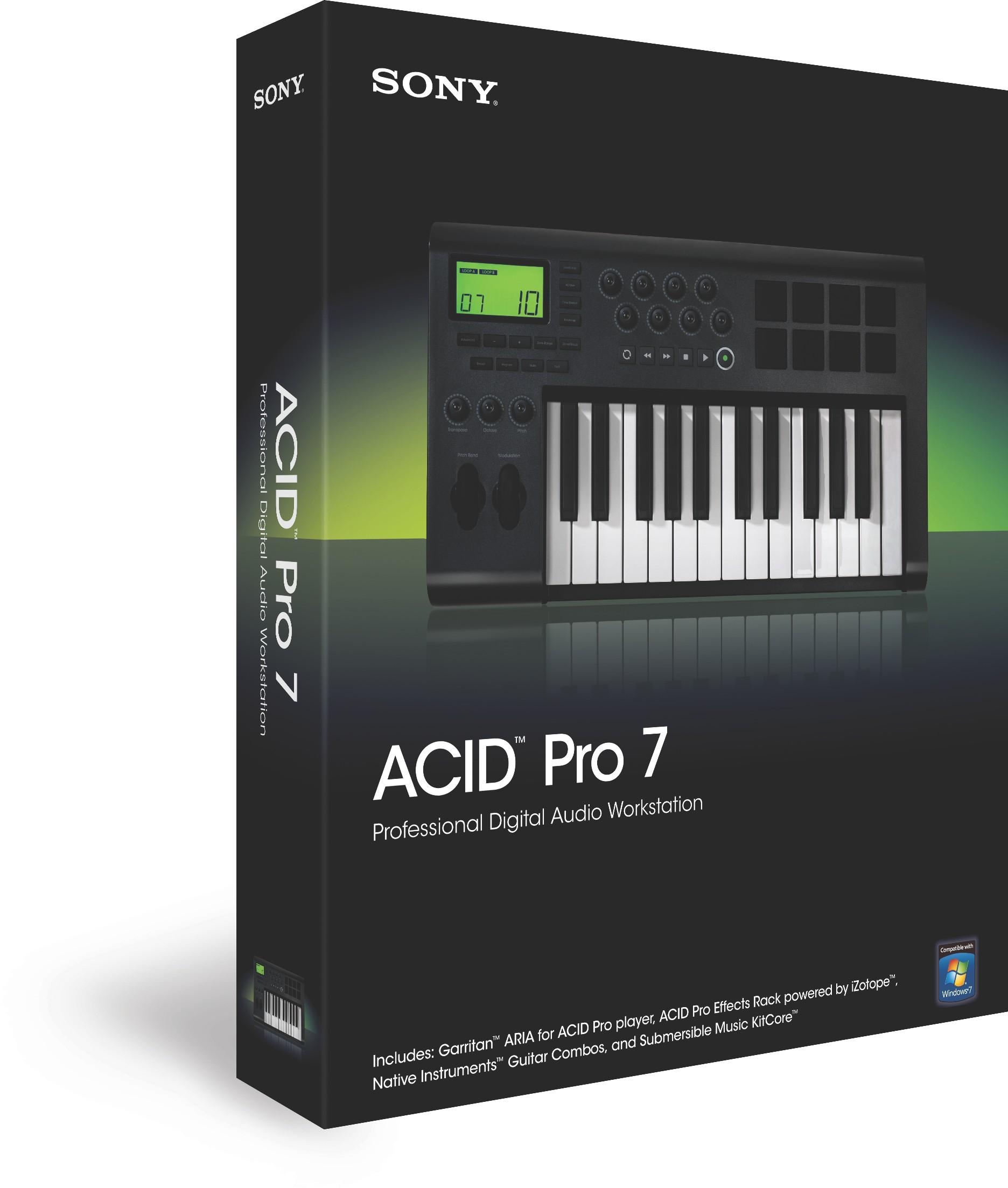 sony acid pro7
