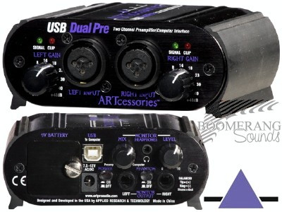 ART USB Dual Pre == DISCONTINUED == > Mic Pre-Amps > Effects