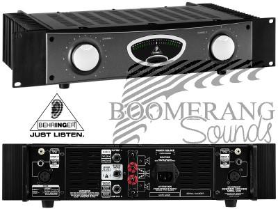 Behringer A500 power amp problem, please help? - diyAudio