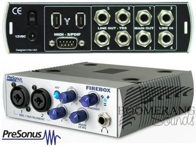 PRESONUS Firebox Sequencers Computer Music Software Shop